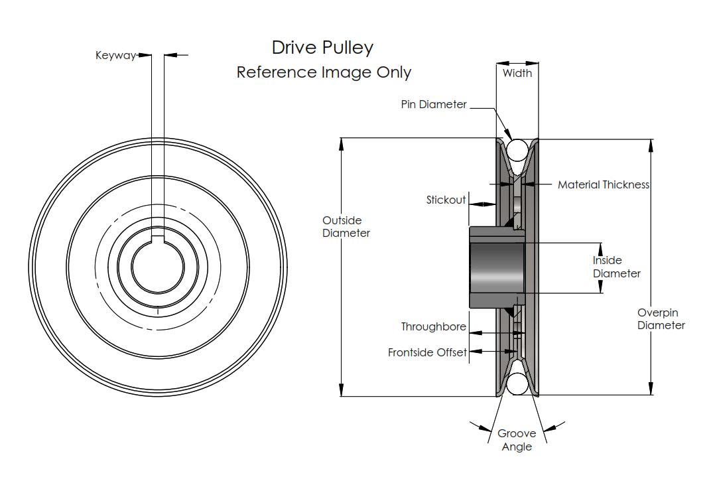 32 John Deere Pulley Diagram