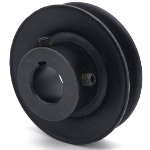 V-Groove Drive Pulley - 3'' Dia. - 3/4'' Bore - Steel
