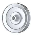 Honda 22420-VE0-J501 Honda 22420-VE2-J500 Honda 22420-VE2-J501 V-Groove Drive Pulley - 3.5'' Dia. - 3/8'' Bore - Steel