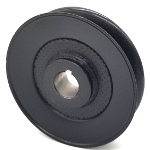 Hustler 602663 V-Groove Drive Pulley - 4'' Dia. - 3/4'' Bore - Steel