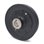 John Deere AM105652 V-Groove Drive Pulley - 4.5'' Dia. - 3/4'' Bore - Steel