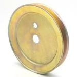 Hustler/BigDog: 603987, V-Groove Drive Pulley - 4.75'' Dia. - Splined Bore - Steel