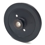 Toro 110146 Exmark 110146 V-Groove Drive Pulley - 4.75'' Dia. - 5/8'' Bore - Steel