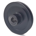 Briggs And Stratton 5100765 Ferris 5100765 Simplicity 5100765 V-Groove Drive Pulley - 4.75'' Dia. - 17mm Bore - Steel