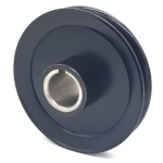 Hustler 779876 V-Groove Drive Pulley - 5'' Dia. - 1 1/8'' Bore - Steel