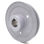 Toro 109-9905 Exmark 109-9905 V-Groove Drive Pulley - 6'' Dia. - 1 1/8'' Bore - Steel
