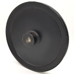 Toro 1-323278 Exmark 1-323278 V-Groove Drive Pulley - 7.5'' Dia. - 5/8'' Bore - Steel