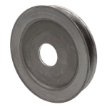 V-Groove Drive Pulley - 5'' Dia. - 1 1/4'' Bore - Steel