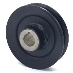 John Deere AM105654 V-Groove Drive Pulley - 3.75'' Dia. - 3/4'' Bore - Steel