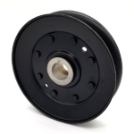 John Deere AM121832 V-Groove Drive Pulley - 4.75'' Dia. - 20mm Bore - Steel