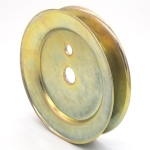 Hustler/BigDog: 603988, V-Groove Drive Pulley - 4.75'' Dia. - Splined Bore - Steel