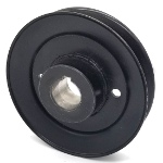 Hustler 602842 V-Groove Drive Pulley - 5'' Dia. - 1'' Bore - Steel