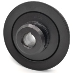 Toro 135-0134 Exmark 135-0134 V-Groove Drive Pulley - 5.25'' Dia. - 1'' Bore - Steel