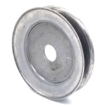 Kunz: 241007, V-Groove Drive Pulley - 5.25'' Dia. - <1/4'' Bore - Steel