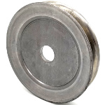Kunz: 241011, V-Groove Drive Pulley - 5.75'' Dia. - 25mm Bore - Steel