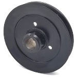 Toro 1-653099 Exmark 1-653099 V-Groove Drive Pulley - 6'' Dia. - 25mm Bore - Steel