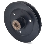 Toro 116-5043 Exmark 116-5043 V-Groove Drive Pulley - 6.5'' Dia. - 17mm Bore - Steel