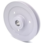Toro 1-633701 Exmark 1-633701 V-Groove Drive Pulley - 6.5'' Dia. - 7/8'' Bore - Steel