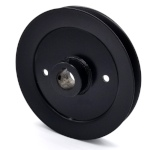 Toro 1-643292 Exmark 1-643292 V-Groove Drive Pulley - 6.75'' Dia. - 1'' Bore - Steel