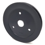 Toro 116-0185 Exmark 116-0185 V-Groove Drive Pulley - 6.75'' Dia. - 1 3/16'' Bore - Steel