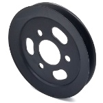 Toro 105-7735 Exmark 105-7735 V-Groove Drive Pulley - 6.75'' Dia. - 1 3/4''+ Bore - Steel