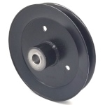 Toro 116-5044 Exmark 116-5044 V-Groove Drive Pulley - 6.75'' Dia. - 17mm Bore - Steel