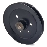 Toro 120-7855 Exmark 120-7855 V-Groove Drive Pulley - 6.75'' Dia. - 25mm Bore - Steel