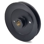 Toro 110-4891 Exmark 110-4891 V-Groove Drive Pulley - 7'' Dia. - 1'' Bore - Steel