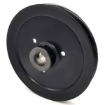 Hustler 602754 V-Groove Drive Pulley - 7'' Dia. - 7/8'' Bore - Steel