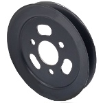 Toro 108-5979 Exmark 108-5979 V-Groove Drive Pulley - 7.25'' Dia. - 1 3/4''+ Bore - Steel