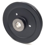 Hustler 602745 V-Groove Drive Pulley - 7.25'' Dia. - 1'' Bore - Steel
