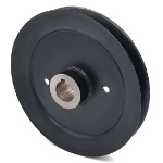 Toro 103-1667 Exmark 103-1667 V-Groove Drive Pulley - 7.25'' Dia. - 1'' Bore - Steel
