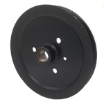 Toro 120-7856 Exmark 120-7856 V-Groove Drive Pulley - 7.75'' Dia. - 25mm Bore - Steel