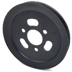 Toro 105-7734 Exmark 105-7734 V-Groove Drive Pulley - 7.75'' Dia. - 1 3/4''+ Bore - Steel