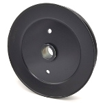 Toro 110-4890 Exmark 110-4890 V-Groove Drive Pulley - 7.5'' Dia. - 1'' Bore - Steel