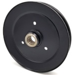Toro 116-0676 Exmark 116-0676 V-Groove Drive Pulley - 8'' Dia. - Splined Bore - Steel