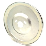 Toro 136-7157 Exmark 136-7157 V-Groove Drive Pulley - 8.25'' Dia. - 1 1/4'' Bore - Steel
