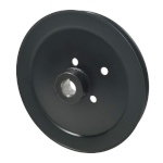 Hustler 602746 V-Groove Drive Pulley - 9'' Dia. - 1'' Bore - Steel
