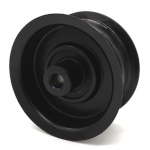 Briggs And Stratton 7509 Ferris 7509 Ariens 07324500 Simplicity 7509 Swisher 7509 Flat Idler Pulley - 2.75'' Flat Dia. - 3/8'' Bore - Steel