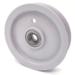 Husqvarna 539976688 Husqvarna 976688 Briggs And Stratton 76688 Simplicity 76688 Flat Idler Pulley - 4'' Dia. - 5/8'' Bore - Steel