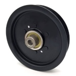 Briggs And Stratton 5103764 Ferris 5103764 Flat Idler Pulley - 5'' Flat Dia. - 1/2'' Bore - Steel