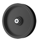 Briggs And Stratton 7035789 Simplicity 7035789 Flat Idler Pulley - 5.5'' Flat Dia. - 3/8'' Bore - Steel