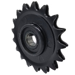Sprocket Pulley - 3.75'' Dia.- 17mm Bore - Steel