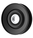 Ariens 160452 V-Groove Idler Pulley - 3'' Dia.- 17mm Bore - Steel