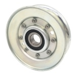 V-Groove Idler Pulley - 3.75'' Dia.- 5/8'' Bore - Steel