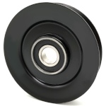 Turf Teq 10-0433 V-Groove Idler Pulley - 4'' Dia.- 17mm Bore - Steel