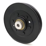 Scag 48181 V-Groove Idler Pulley - 5'' Dia.- 3/8'' Bore - Steel