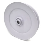 V-Groove Idler Pulley - 7'' Dia.- 5/8'' Bore - Steel