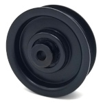 Briggs And Stratton 7012124 Simplicity 7012124 Flat Idler Pulley - 2'' Flat Dia. - 1/4'' Bore - Steel