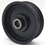 Toro 451182 Exmark 451182 Ariens 07317200 Walker Mowers 5245-1 Flat Idler Pulley - 2.25'' Dia. - 3/8'' Bore - Steel